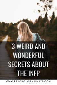 3 amazing and #weird secrets of the #INFP #personality type! #MBTI #INFP #myersbriggs #personalitytype