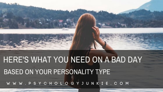 Find out what each #personality type needs on a bad day! #MBTI #Myersbriggs #INFJ #pesonalitytype #INTJ #INFP #INTP #ENFP #ENTP #ENFJ #ENTJ #ISTJ #ISFJ #ISTP #ISFP