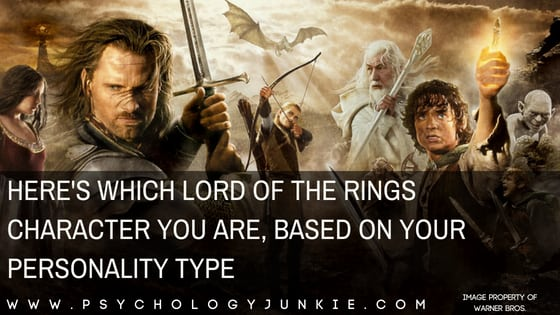 Here's Which Lord of the Rings Character You Are, Based on Your Personality Type