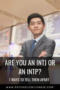 Find out if you are an #INTJ or an #INTP personality type! #MBTI #personality #personalitytype #myersbriggs