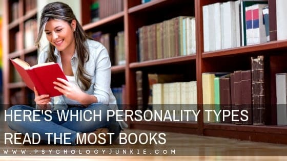 Here's Which Personality Types Read the Most Books