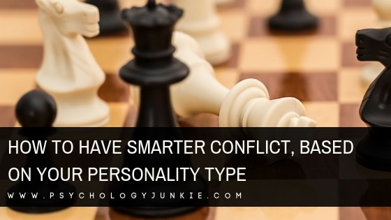 Find out how to have smarter, more beneficial conflict with the power of your #personality type! #MBTI #Myersbriggs #INFJ #INTJ