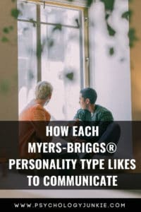 Discover the interaction style and communication preferences of every #MBTI #personality type. #INFJ #INTJ #INFP #INTP