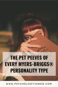 Find out the pet peeves of every #personality type! #MBTI #INFJ #INTJ #INFP #INTP