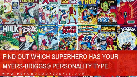 Find Out Which Superhero Has Your Myers-Briggs® Personality Type