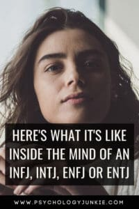 Explore what REALLY goes on inside the minds of the #INFJ, #INTJ, #ENFJ or #ENTJ #personality types! #MBTI
