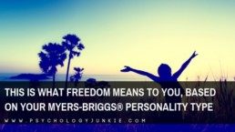 Find out what freedom means to each #personality type. #MBTI #INFJ #INTJ #INFP #INTP #ENFP