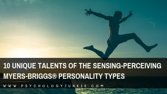Discover the ten unique gifts and contributions of the sensing-perceiving #personality types. #MBTI #ISTP #ISFP #ESTP #ESFP