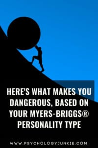Find out how each #personality type can be dangerous! #MBTI #INFJ #INTJ #INFP #INTP