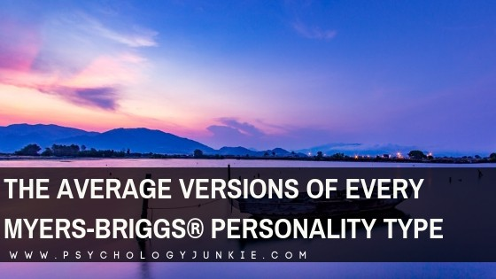 Take a look at each Myers-Briggs #personality type in their most average state. #MBTI #INFJ #INTJ #INFP #INTP