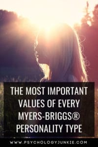 Find out what really matters to each Myers-Briggs #personality type. #INFJ #INTJ #INFP #INTP #MBTI