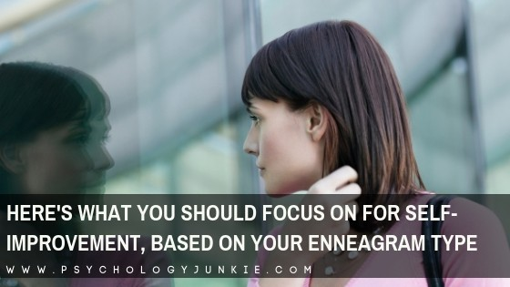 Find out how to move towards growth and integration with the #enneagram! #Personality #enneatype