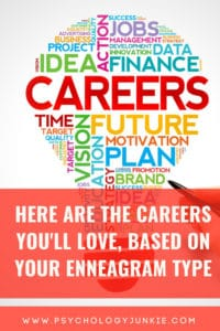 Discover what you really need in a career, based on your #enneagram type. #enneatype #Personality