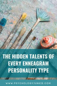 Discover your own hidden strengths and talents, based on your #enneatype. #Enneagram #Personality #personalitytype