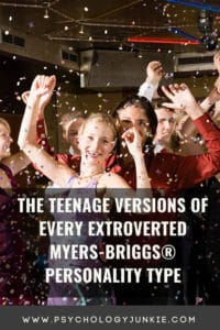A deeper look at the extroverted versions of every Myers-Briggs personality type. #MBTI #Personality #ENFP #ENTP #ENFJ #ENTJ