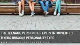 Take a look at each introverted Myers-Briggs® personality type in the teenage years. #MBTI #INFJ #INTJ #INFP #INTP