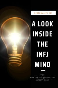 Get an in-depth look at what it's really like inside the brain of the #INFJ personality type. #Personality #MBTI