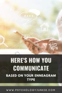 Find out how each #enneatype communicates in text, email and in-person. #Enneagram #Personality