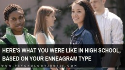 An entertaining look at how each #enneatype shows up in high school. #Enneagram #Personality