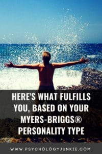 Find out what brings each #personality type joy and fulfillment. #MBTI #INFJ #INTJ #INFP #INTP