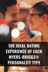 Find out what's really important to each Myers-Briggs® personality type on a first date. #INFJ #INTJ #INFP #INTP