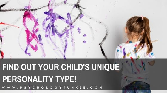 Find out what your child's 4-letter Jungian personality type is! #Personality #INFJ #INTJ #INFP #INTP #Introvert