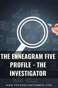 Get an in-depth look at the enneagram five type. #Enneagram #five #enneatype