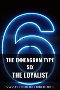 An in-depth guide to the six #enneatype. #Enneagram #six