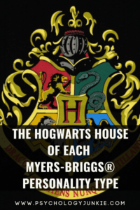 Find out which Hogwarts House best suits your Myers-Briggs personality type. #MBTI #Personality #INFJ #INTJ #INFP #INTP