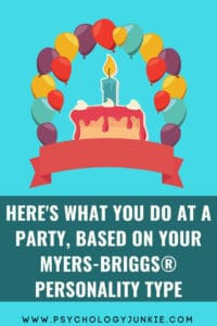 A humorous look at how each personality type would appear at a party. #MBTI #Personality #ENFP #ENTP #INFJ #INTJ