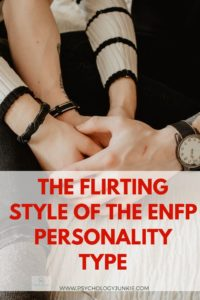 Get an in-depth look at how #ENFPs flirt! #ENFP #MBTI #Personality