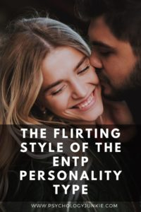 Want to know for sure if an #ENTP is flirting with you? Look no further than this article! #MBTI #Personality