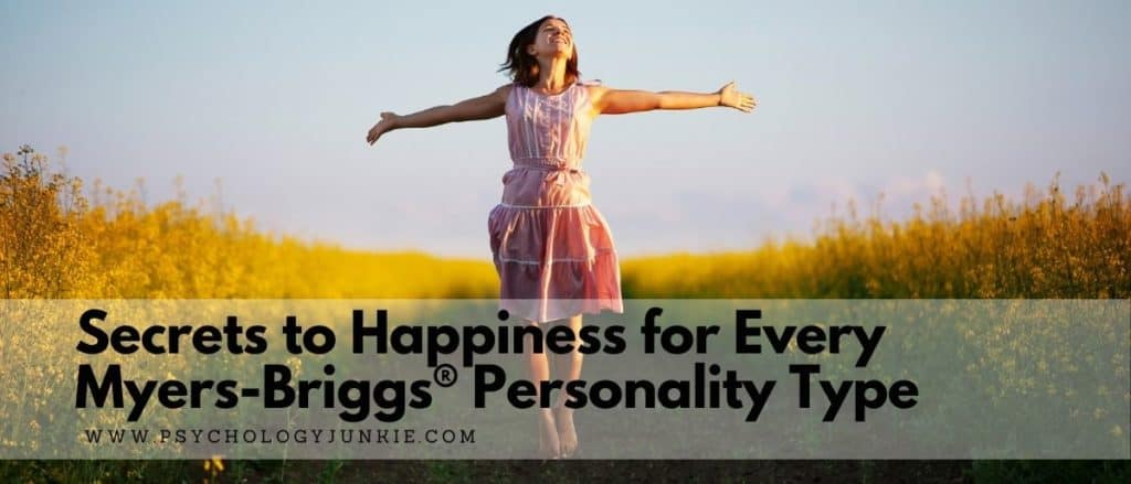Find some tips for happiness based on your Myers-Briggs personality type. #MBTI #Personality #INFJ