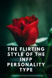Get an in-depth look at the flirting style of the #INFP personality type while debunking some of the stereotypes about this personality type! #MBTI #Personality