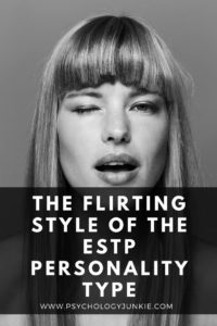 Find out how to really tell if an #ESTP likes you in this look at their flirting style! #Personality #MBTI