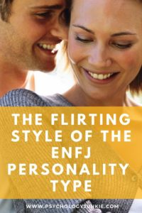 Ever wondered if an ENFJ likes you? Get a look at their flirting style! #ENFJ #MBTI #Personality