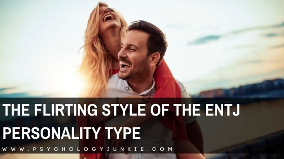 Not sure if an ENTJ likes you? Get some hints into their unique flirting style. #ENTJ #MBTI #Personality