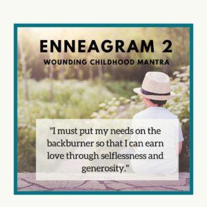 Enneagram 2 child