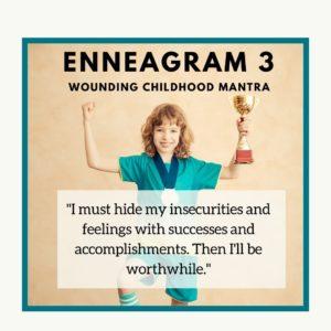 Enneagram 3 child