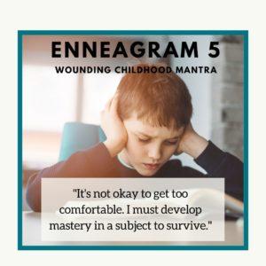 Enneagram 5 child