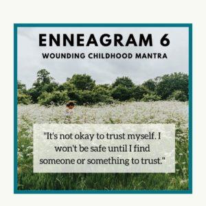 Enneagram 6 child