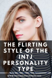 Get an in-depth look at the flirting style of the #INTJ personality type. #Personality #MBTI