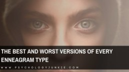Get an in-depth look at how each #enneatype appears at their best and worst levels of health. #enneagram #one #two #four #five #six
