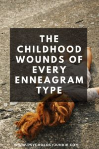 Get an in-depth look at the childhood struggles of each #enneatype. #Enneagram #Personality