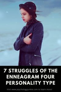Get an in-depth look at the unique struggles of the #enneagram four personality type. #Enneagram #Enneatype #Four