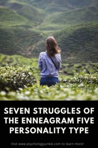 Get an in-depth look at the struggles of the Enneagram Five type. #Enneagram #Five #Personality