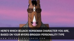 Get a look at the unique personality types of each Bojack Horseman character. #MBTI #Personality #BojackHorseman