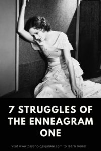 Explore seven of the most frequent struggles of the enneagram One personality type. #enneagram #enneatype #one