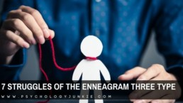 Get an in-depth look at the unique struggles of the enneagram Three personality type. #enneagram #enneatype #three