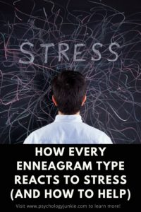 Find out how each enneagram type reacts to stress and how to effectively help them. #Enneagram #Personality